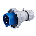 CEE Electrical Plug 32A 2P+E IP67 6H HTN0231