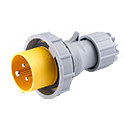 CEE Electrical Plug 32A 2P+E IP67 4H HTN0231-4