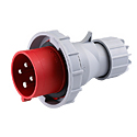 CEE Electrical Plug 32A 3P+E IP67 6H HTN0241