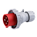 Reefer Container Plug(Container-plug)(Plugs for Reefer Containers) 32A 3P+E IP67 3H HTN0241-3