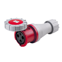CEE Electrical Connectors(Industrial Couplers) 63A 2P+E IP67 9H HTN2331-9