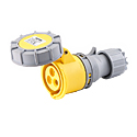 CEE Electrical Connectors(Industrial Couplers) 16A 2P+E IP67 4H HTN2131-4
