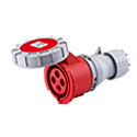 Watertight Industrial Connector 16A 3P+E IP67 6H HTN2141