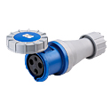 CEE Electrical Connectors(Industrial Couplers) 63A 2P+E IP67 6H HTN2331