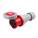 CEE Electrical Connectors(Industrial Couplers) 63A 3P+E IP67 6H HTN2341