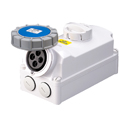 Interlocked Switched Sockets(Socket with Interlock Switch)(Socket with Switches and Mechanical Interlock) 16A 3P+E IP67 9H HTPZ1141-9