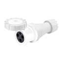 CEE Electrical Connectors(Industrial Couplers) 63A 2P+E IP67 3H HTN2331-3